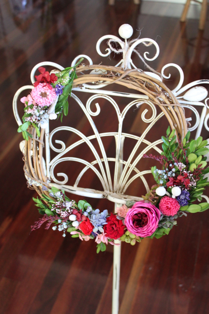 Image of Forest Wreath - Pink