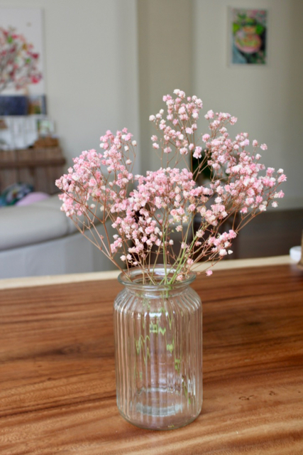 Image of Preserved Baby Breath - Antique Pink