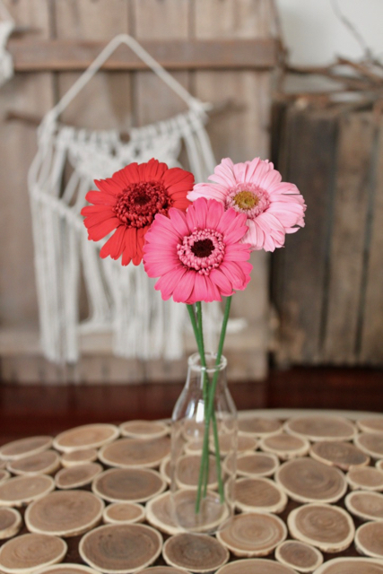 Image of Small Bouquet - 3 Pink Gerbera