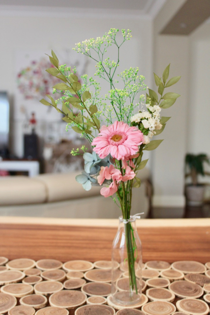 Image of Small Bouquet - Pink Gerbera bouquet