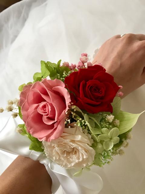 "Image of ""Wrist corsage - size Large"""